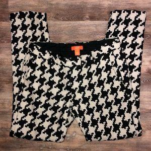 Joe Fresh lined wool blend geometric pants Size 4